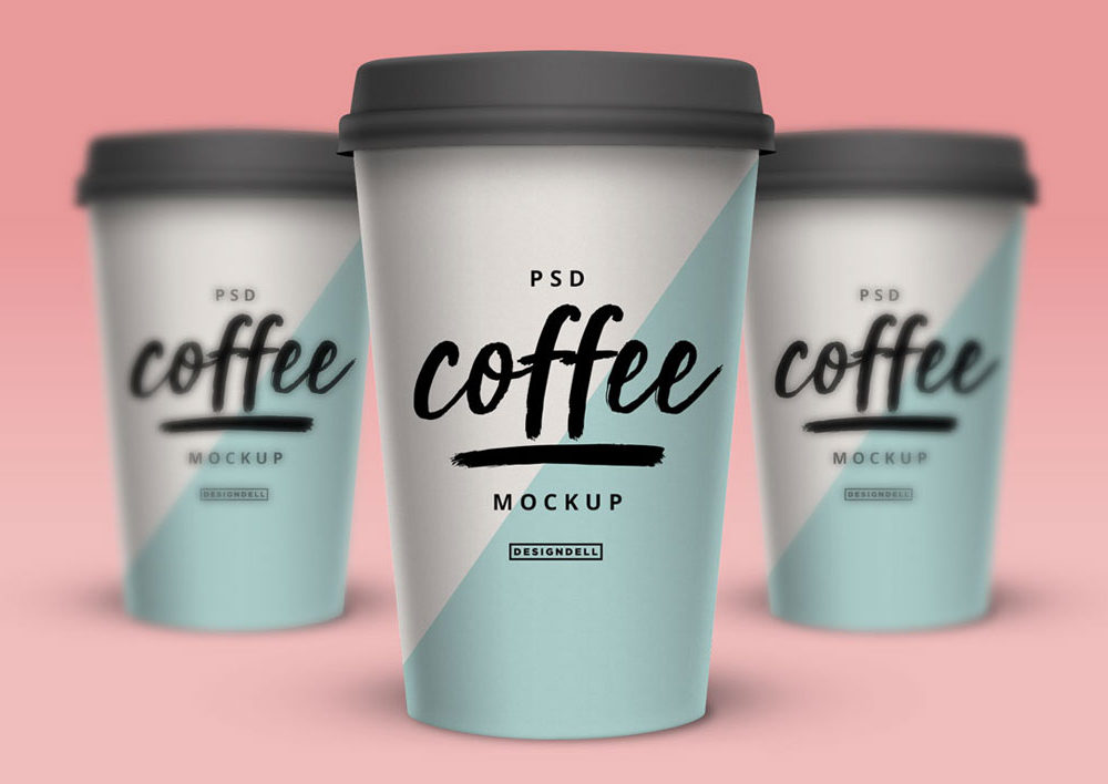 Coffee Cup Photoshop Mockup