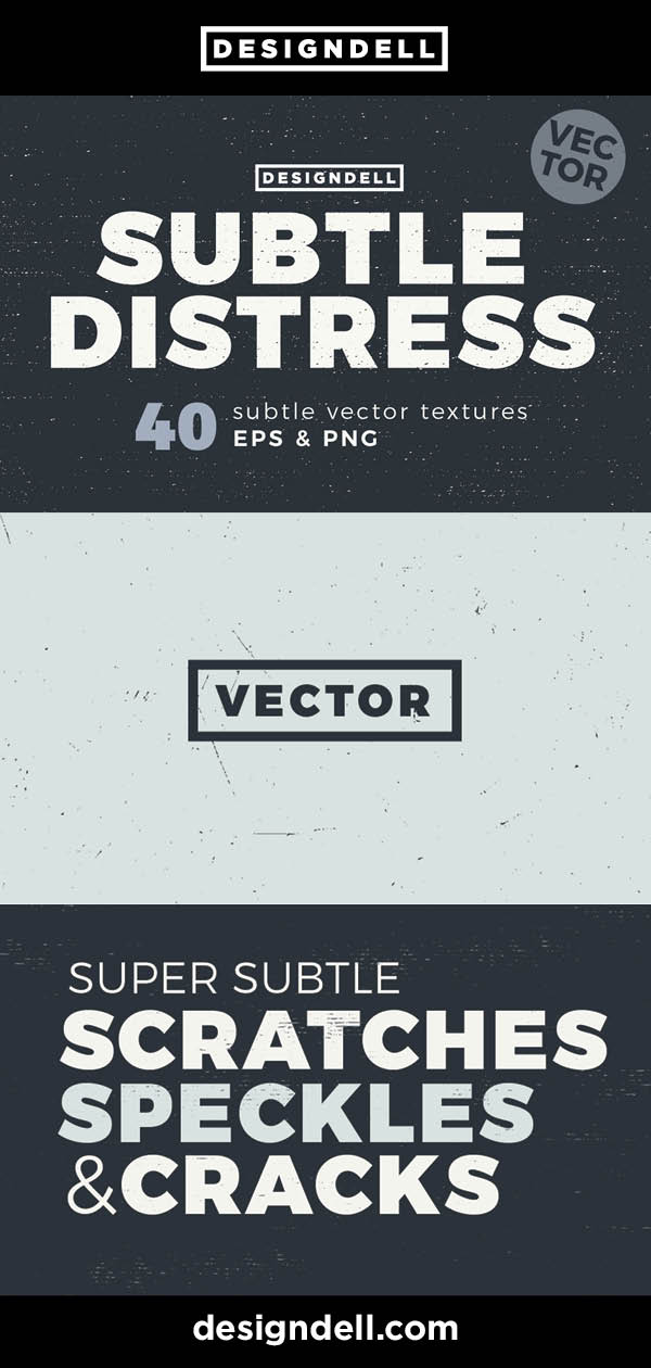 40 Subtle Distress Vector Textures