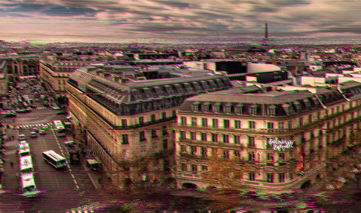 VHS Glitch Photoshop Effects - DesignDell